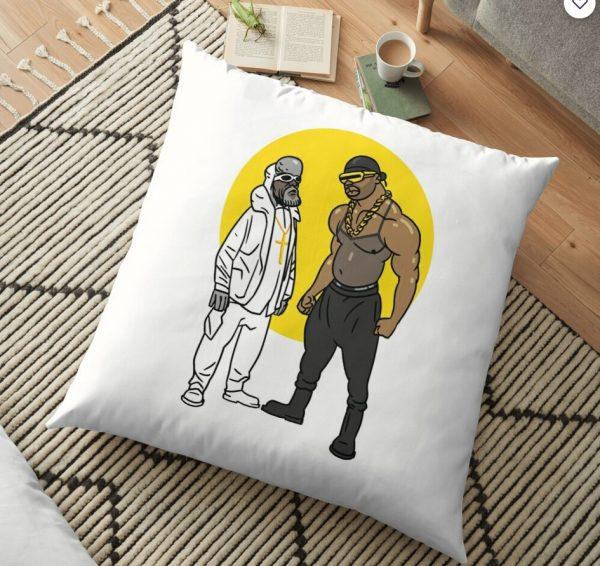 GOOD VS. EVIL Floor Pillow